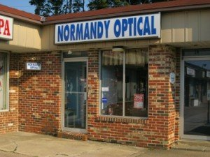 Normandy Optical Storefront
